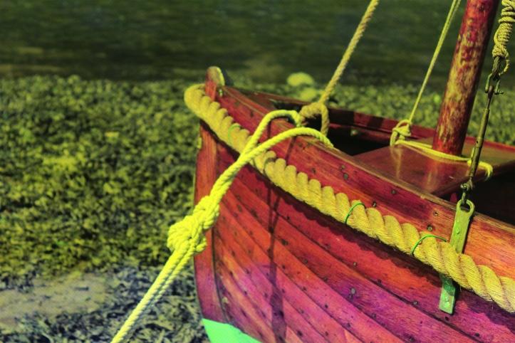 Solva, fishing boat.